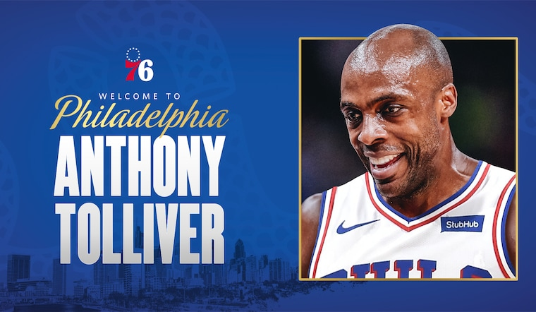 76ers Sign Anthony Tolliver to 10-Day Contract