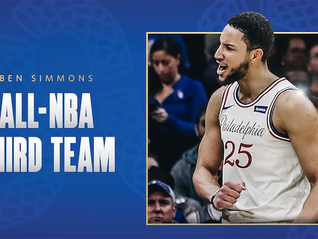 Simmons Named All-NBA