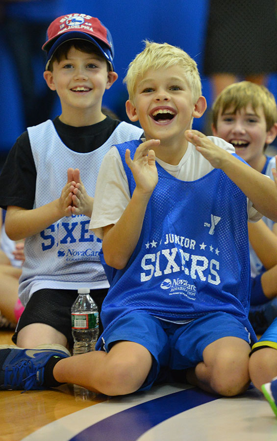 Watch: Jr. Sixers Clinic Recap