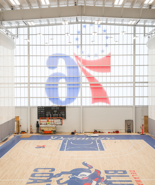 Coat Check | 76ers Fieldhouse Opening Night