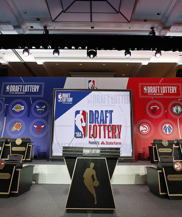 After Lottery, Team to Pick Five Times in Draft