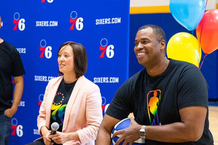 76ers Team With NBA Veteran Jason Collins To Host Pride Discussion & Clinic For LGBTQ Youth