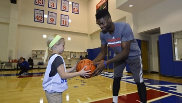 Photos: Jr. Sixers Clinic