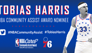 Harris Finalist for Community Assist Award