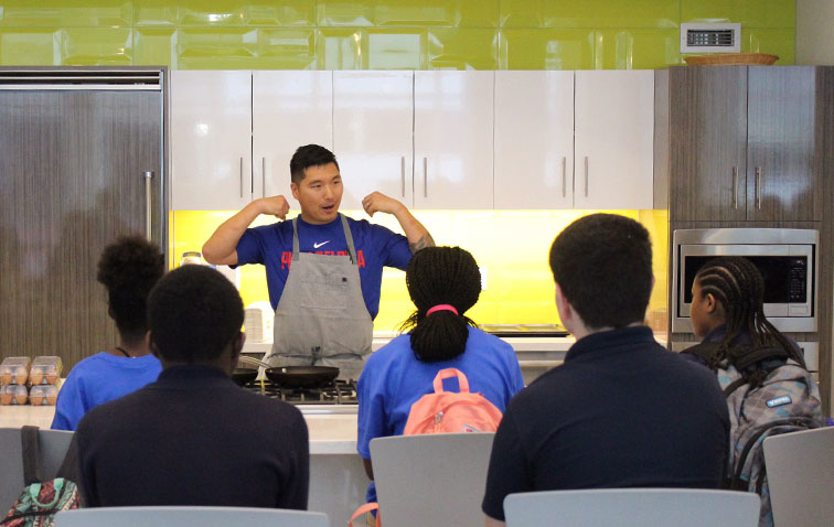 Sixers Youth Foundation SCORE Program Tips Off Third Year