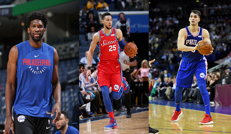 Ben Simmons, Joel Embiid, Dario Saric selected for NBA's Rising Stars game
