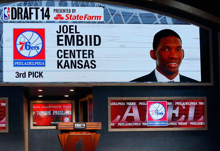 Joel Embiid may not play during his first season as a 76er