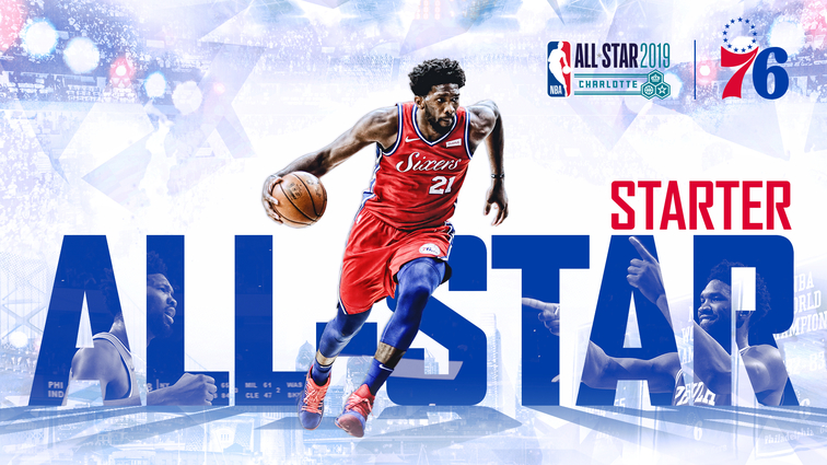 National Basketball Association  announces the starters for the 2019 All-Star Game