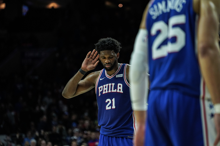 No Date for You: Rihanna Gets Blocked by Sixers Star Joel Embiid