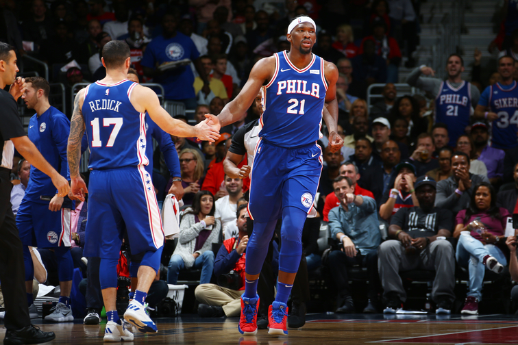 Photos | Sixers at Wizards (10.18.17)