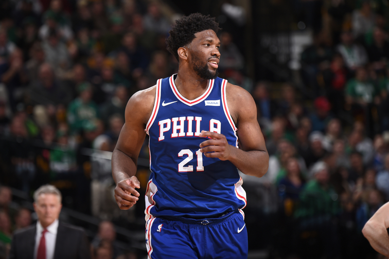 240667e374d Philadelphia 76ers Center Joel Embiid Named Eastern Conference Player of  the Week