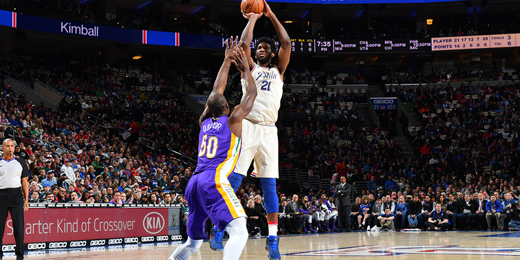 At the Buzzer | Embiid Leads Dominant Collective Effort Against Pelicans