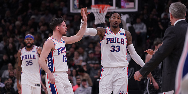 Sixers beat Spurs, end 13-game skid in San Antonio