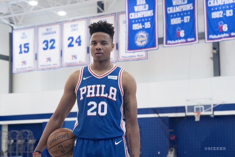 Sixers Unveil 2017-18 Nike Association   Icon Jerseys  7aa8b6417