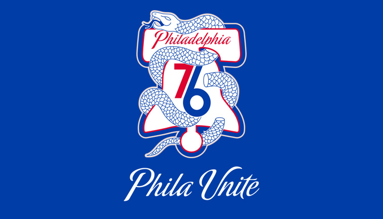 76ers Unveil Phila Unite Playoff Campaign Rooted In City S History Philadelphia 76ers