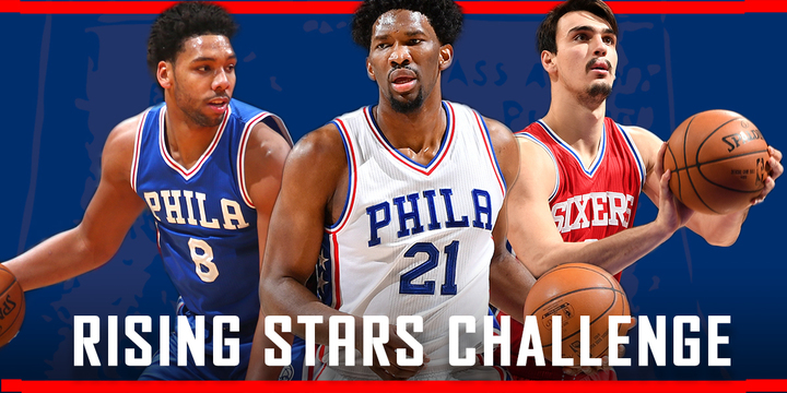 Three Nuggets have been selected for the Rising Stars Challenge