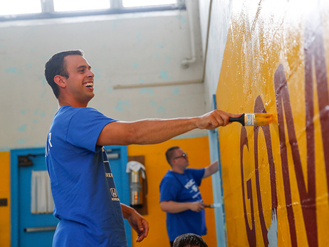 76ers, Honda partner for Project 76 Day of Service