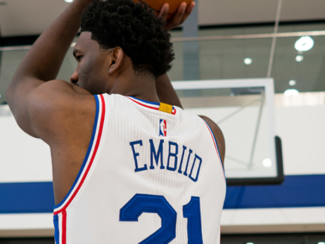 On the Beat: Embiid, Simmons, Saric Headline Camp Storylines