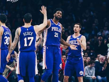 At the Buzzer | Embiid Leads Rout of Rockets