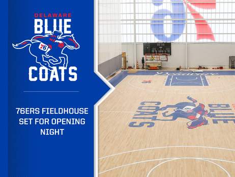 Coat Check | 76ers Fieldhouse Set for Opening Night
