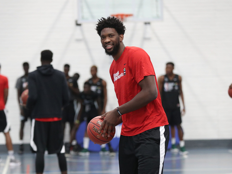 Embiid, Brand to Participate in Basketball Without Borders Africa 2019