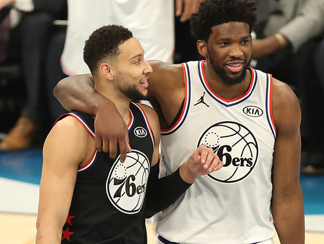 Simmons, Team LeBron Overcome Embiid, Team Giannis in All-Star Game