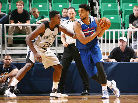 Photos: Sixers vs. Spurs (7/6/2015)