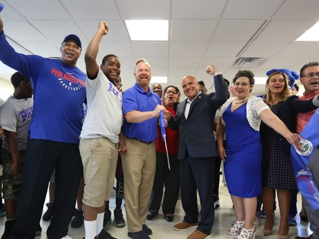 Sixers Youth Foundation, City of Camden Open Learn & Play Center