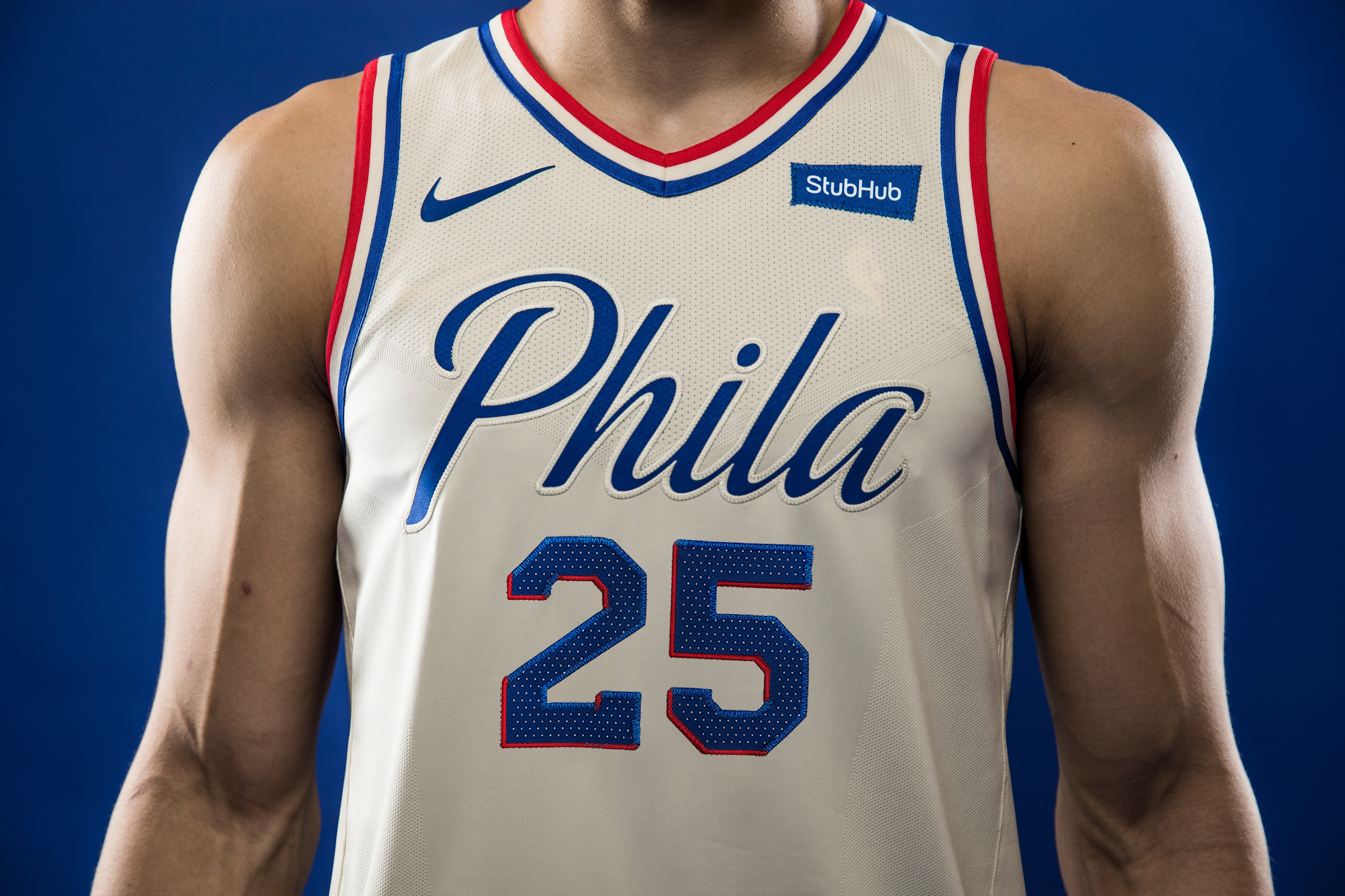 huge discount 9f791 1dc42 Photos | Nike City Edition Jersey | Philadelphia 76ers