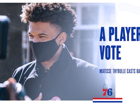 A Player's Vote | Matisse Thybulle Casts Ballot Early