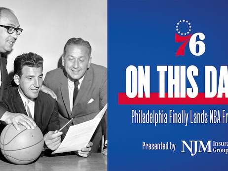 On This Date | Philadelphia Finally Lands NBA Franchise