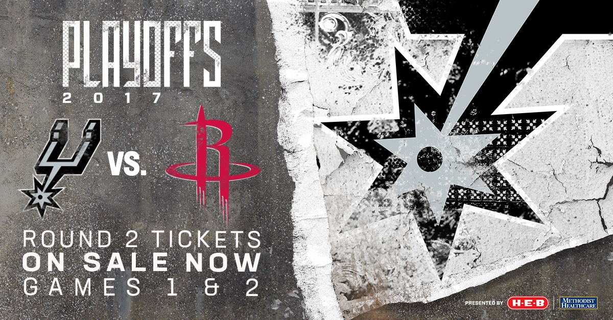 SAN ANTONIO SPURS HOST THE HOUSTON ROCKETS ON MONDAY FOR GAME 1 OF THE WESTERN CONFERENCE SEMIFINALS
