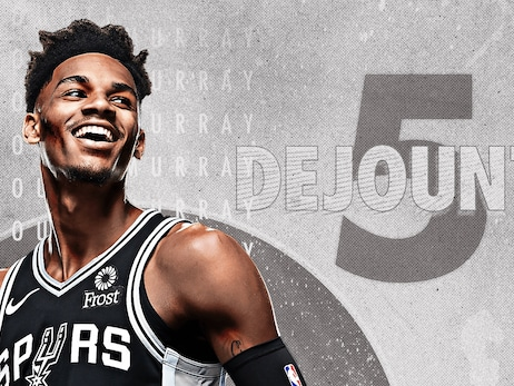SPURS SIGN DEJOUNTE MURRAY TO CONTRACT EXTENSION
