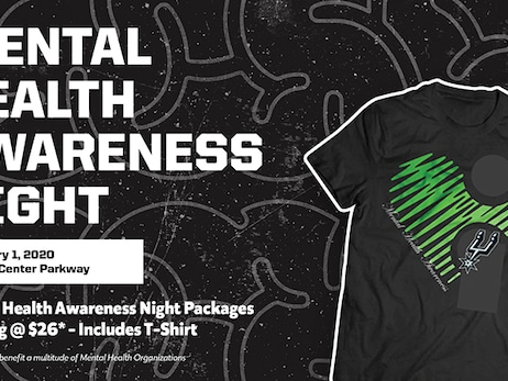 SAN ANTONIO SPURS TO HOST MENTAL HEALTH AWARENESS NIGHT ON FEBRUARY 1