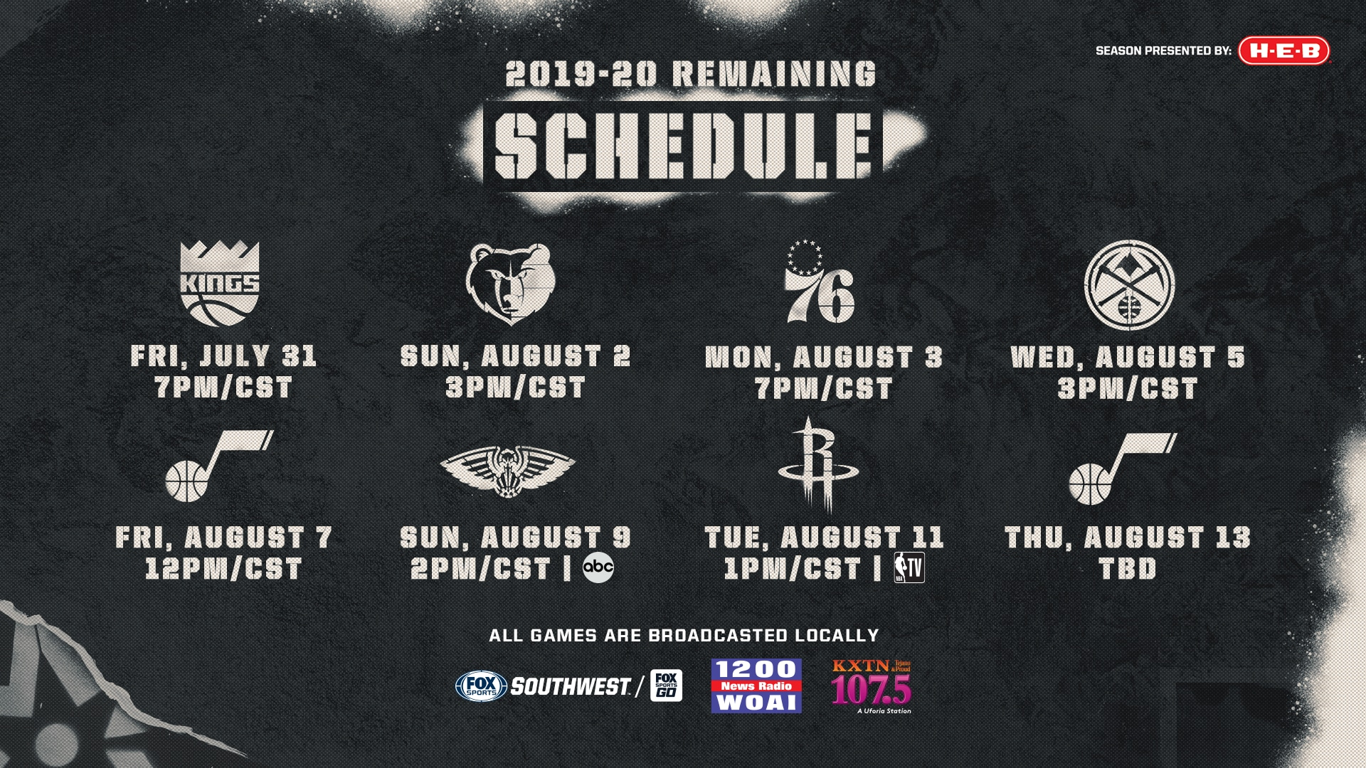Fox Sports Southwest To Provide Live Broadcasts Of Regular Season Spurs Games San Antonio Spurs