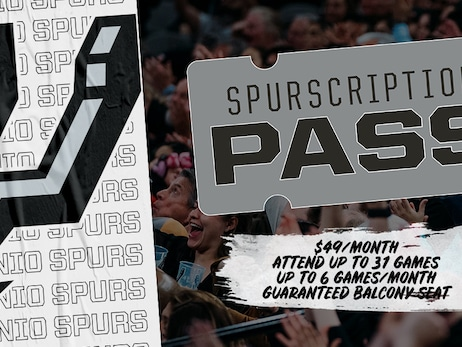 SPURSCRIPTION PASS RETURNS FOR SECOND SEASON, FEATURING A GUARANTEED SEAT FOR 31 SELECT GAMES