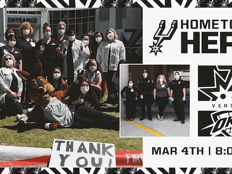 SAN ANTONIO SPURS HONOR HOMETOWN HEROES ON MARCH 4