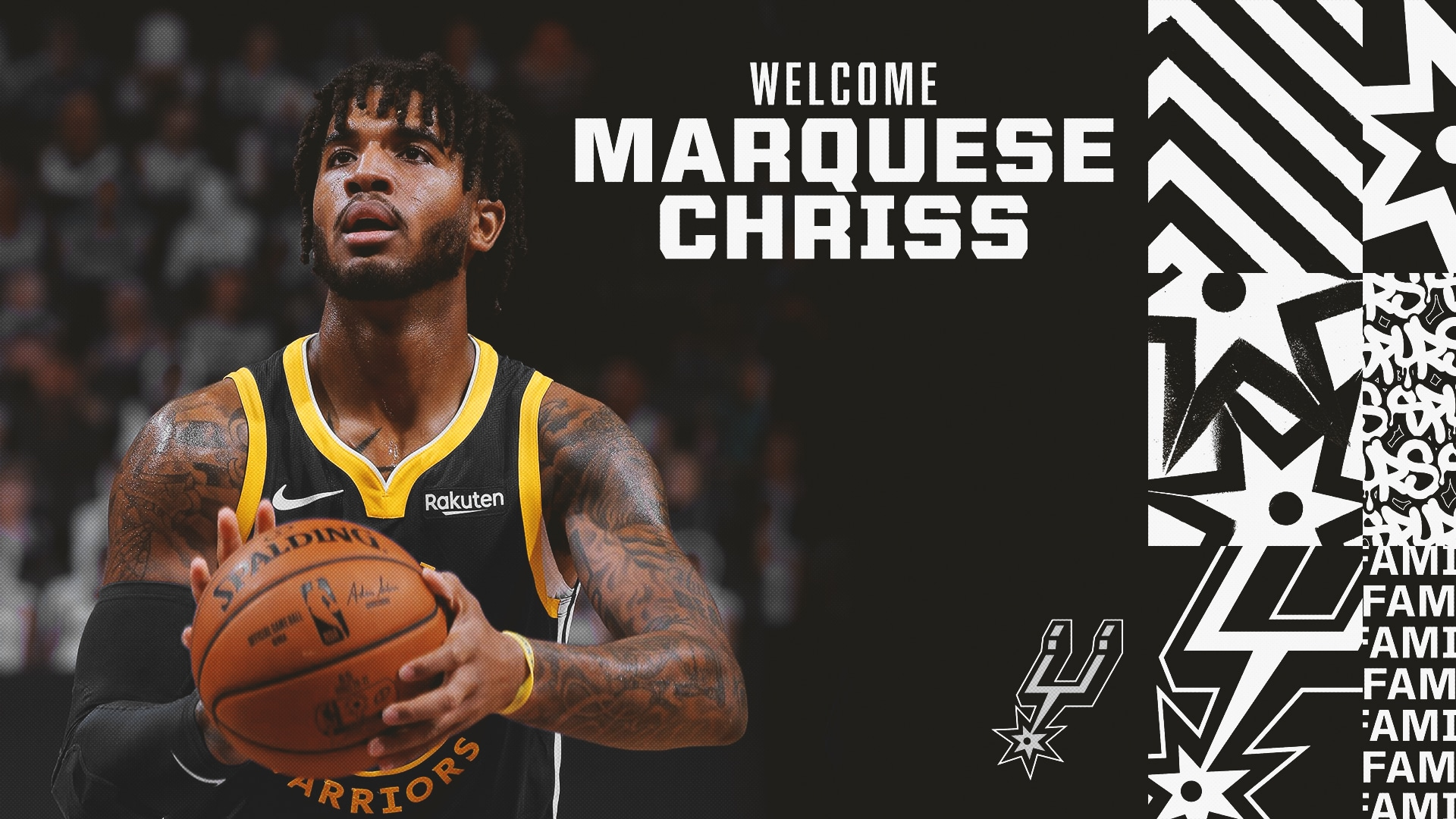 SPURS COMPLETE TRADE WITH WARRIORS