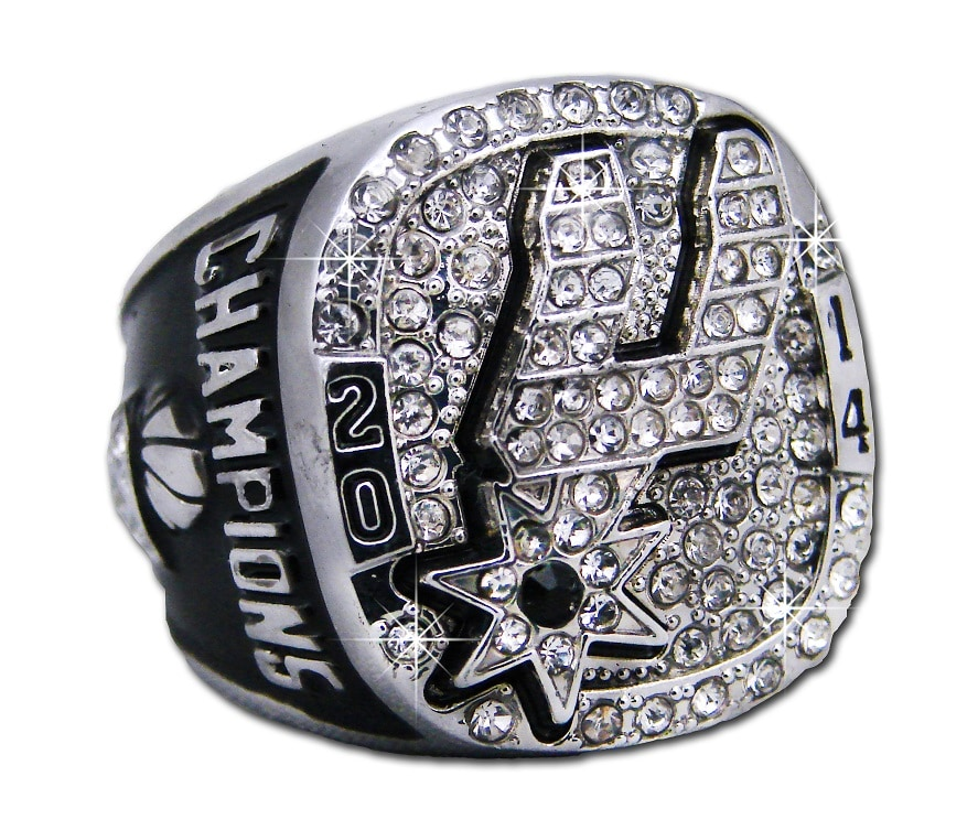 Spurs To Give Away Commemorative Championship Rings Opening Night