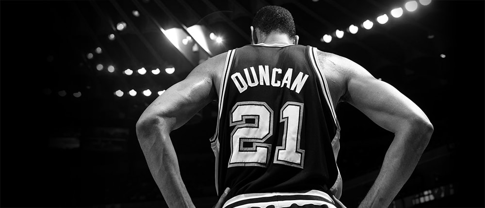 SPURS ANNOUNCE ADDITIONAL DETAILS FOR TIM DUNCAN JERSEY RETIREMENT NIGHT  PRESENTED BY H-E-B 86e2490a0