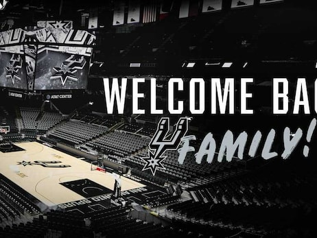 Welcome Back To The AT&T Center, Spurs Family