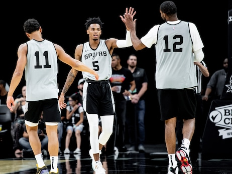 Photos: Spurs Open Scrimmage 2019