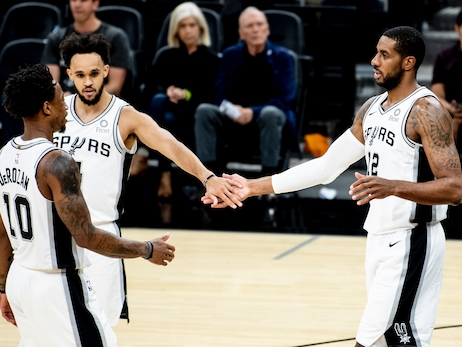 Photos: Spurs vs. Grizzlies 10/18