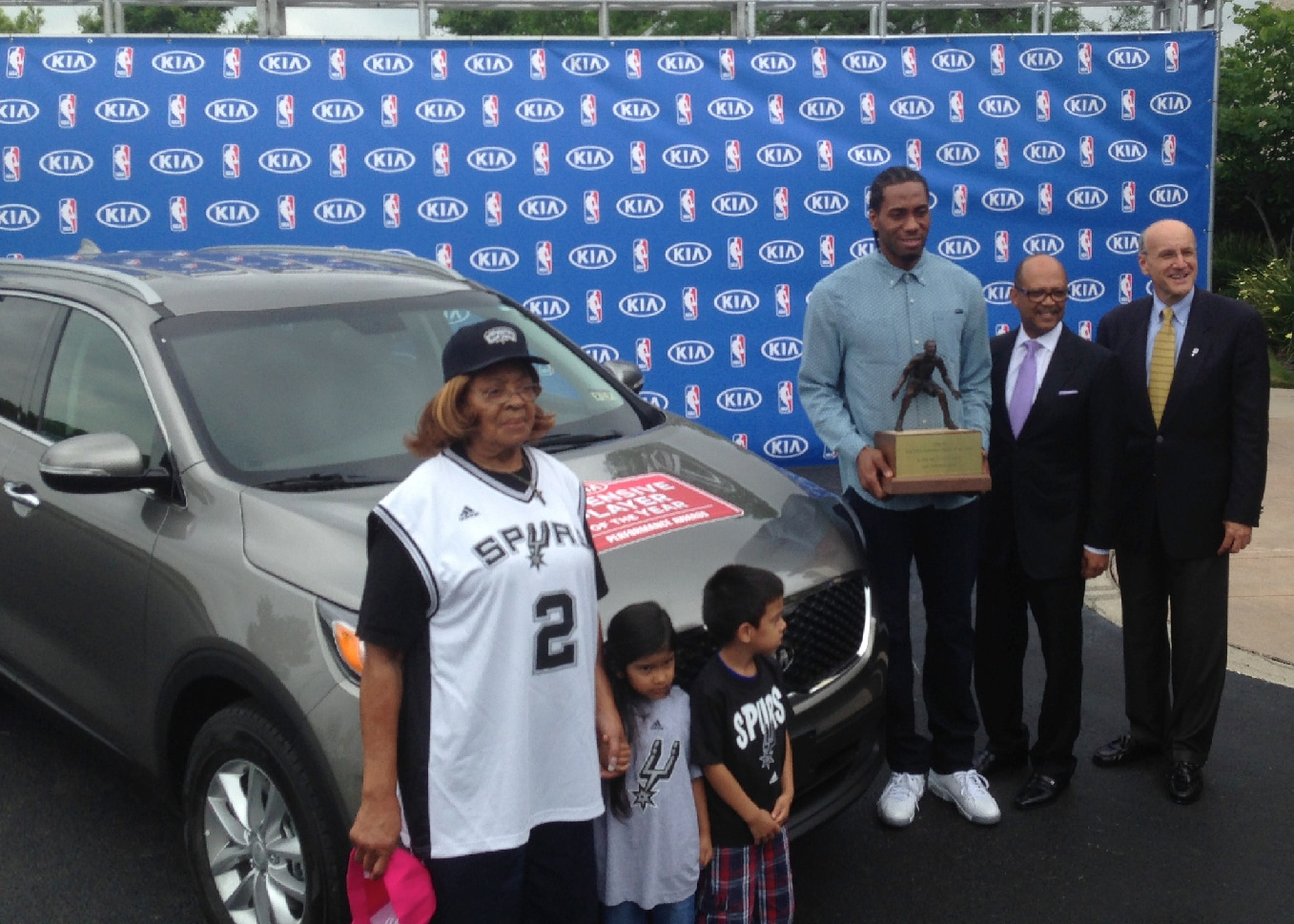 Car To Go Denver >> Award has miles for Leonard | San Antonio Spurs