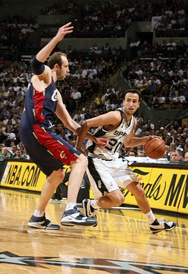 2007 NBA Finals: Spurs vs. Cavaliers | San Antonio Spurs