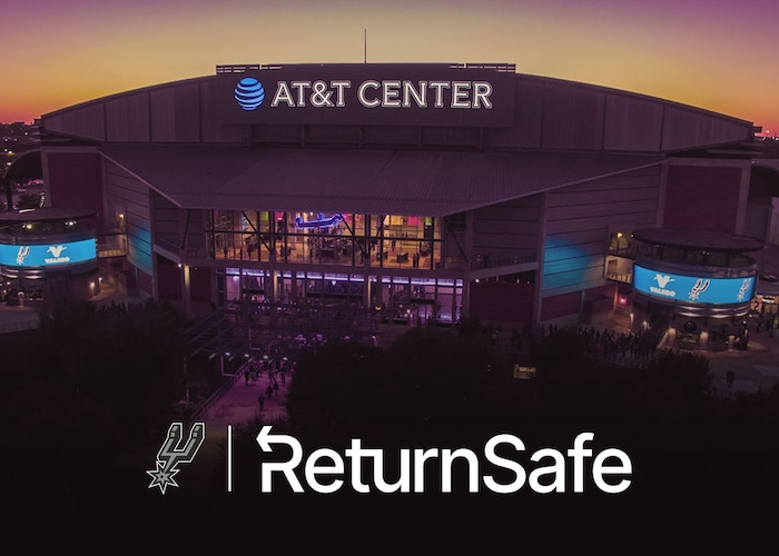 SPURS SPORTS & ENTERTAINMENT AND RETURNSAFE PARTNER TO HELP SAFELY REOPEN AND BRING TEAMS BACK TO WORK AND TO PLAY   San Antonio Spurs