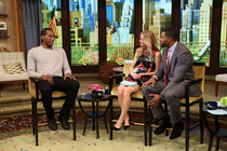 Kawhi Leonard on LIVE! with Michael and Kelly