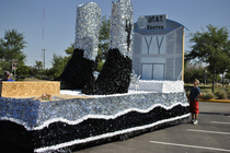 Spurs Fiesta Float: 4/11/11