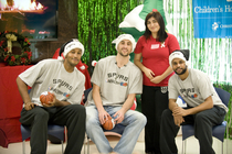 Spurs Visit Children at CHRISTUS Santa Rosa - 1