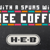 H-E-B stores in San Antonio to offer free coffee after every Spurs playoffs win